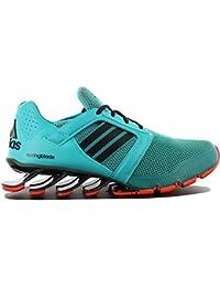 b055261d23 adidas Springblade E-Force M Herren Schuhe Sneaker Turnschuhe Grün-Schwarz
