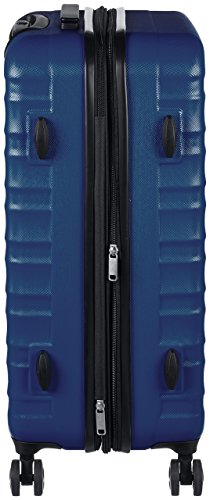 AmazonBasics Hartschalen-Trolley - 68 cm, Marineblau - 4