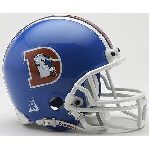 Denver Broncos 1975-1996 NFL Riddell ProLine VSR-4 Mini THROWBACK Football Helmet by Unknown