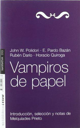 Vampiros De Papel (Nueva Biblioteca Edaf)
