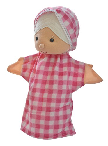 Cuddly Toys Grandmother With Hood Storytelling Hand Puppet For Montessori Preschools