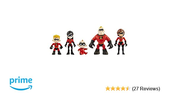 Incredibles 2 Precool Family Figure 3 Inch Jakks Pacific Uk