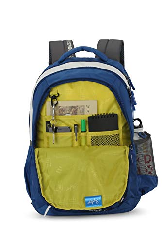 Best skybags backpack in India 2020 Skybags Figo Plus 01 34 Ltrs Blue Casual Backpack (FIGO Plus 01) Image 5