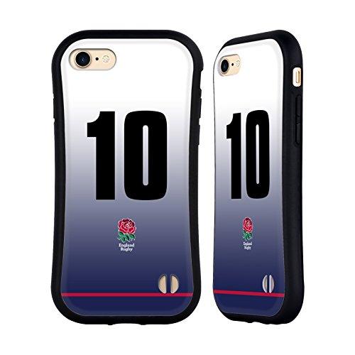 Ufficiale England Rugby Union Posizione 7 2017/18 Kit In Casa Case Ibrida per Apple iPhone 6 Plus / 6s Plus Posizione 10