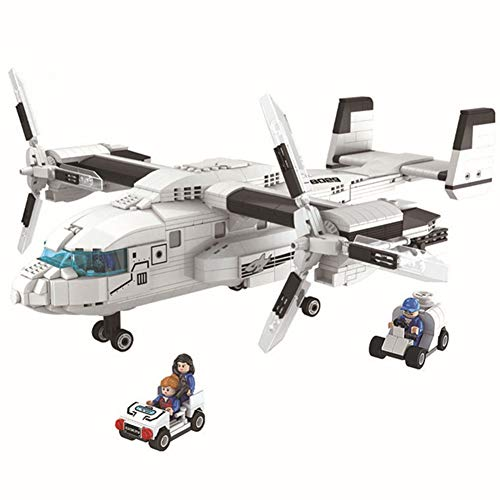 Yyz Bausteine dreidimensionale Rechtschreibung und Montage von Bausteinen Junge Thunder Air Force Serie Transport Hubschrauber Geburtstagsgeschenk - Air Force Serie