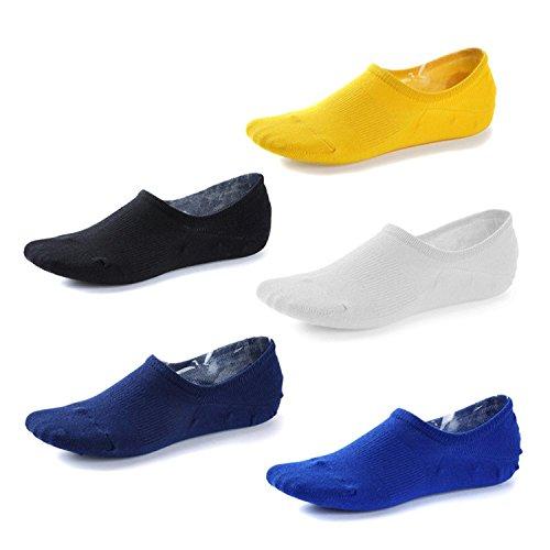 iLoveCos Unisex Damen & Herren Comfort bunt Ankle Socken Invisible Baumwolle Low Cut No Show Socken One size 5 Paar Schweißabsorbierend (Socken Low Comfort)