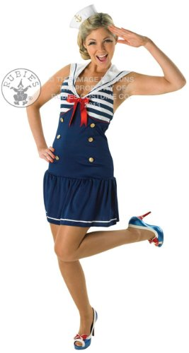 (Sailor Girl - Adult Costume Lady: M (UK:12-14))