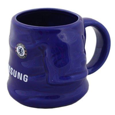 Chelsea FC Fußball Trikot Form Mug Cup Tasse Kaffee Kaffeebecher Becher Tazza