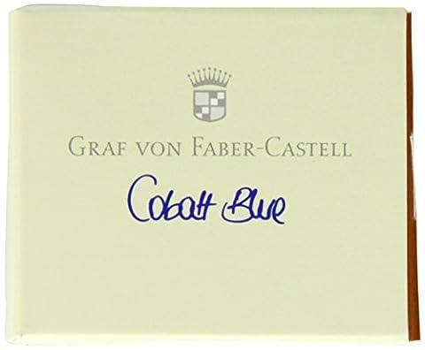 Graf von Faber-Castell 141101 Tintenpatronen,kobalt blau