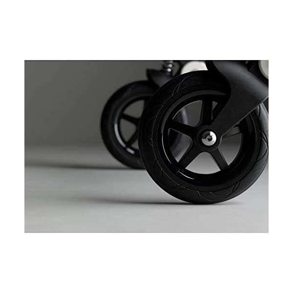 Bugaboo Bee 5 Classic Collection Pushchair Black Chassis - Grey Melange Bugaboo  4