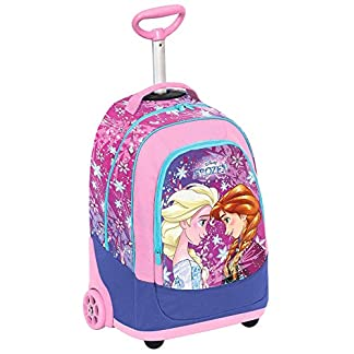 Seven Big Trolley Frozen Ice Magic Trolley para portátil 48 Centimeters 30 Rosa