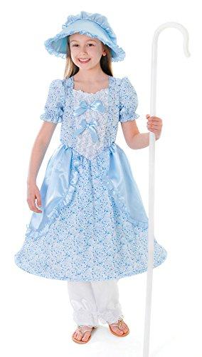 Bo Kostüm Peep Zubehör - Bristol Novelty CC148 Kleine Bo Peep Kostüm