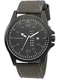 Giordano Analog Black Dial Men's Watch-C1186-01