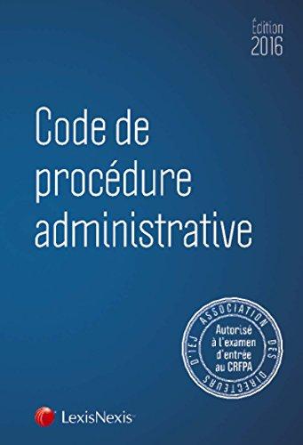 code-de-procedure-administrative