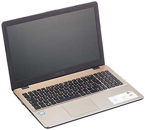 "Asus VivoBook X542UA-GQ266T Notebook, Display da 15.6"", Processore i5-8250U, 1.6 GHz, HDD da 500 GB, 4 GB di RAM, Oro (Golden) [Layout Italiano]"