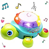 O&B High Quality Musical Turtle Toy,Musical Toys for Baby boy,3 Year Old boy,Kids