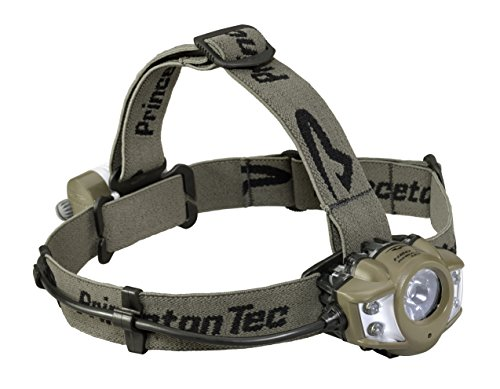 Princeton Tec APEX PRO LED Scheinwerfer, unisex, Braunoliv, 275 - Switch Running Light