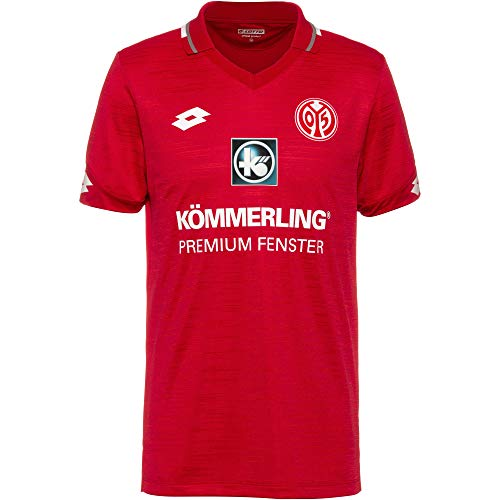 Lotto Herren MZ19 Home JRS T-Shirt, Flame red, L