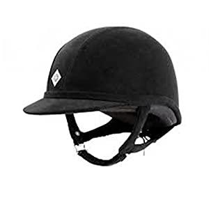 Charles Owen GR8 Riding Helmet Black 55cm