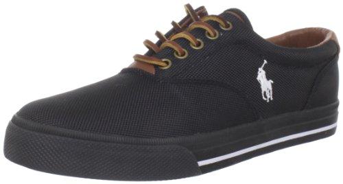 Polo Ralph Lauren Vaughn Nylon Sneaker Black/black