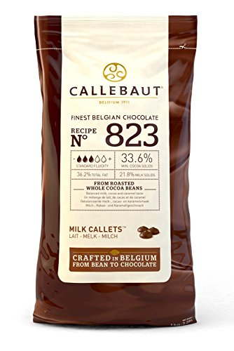 Price comparison product image Callebaut milk chocolate chips (callets) 1kg