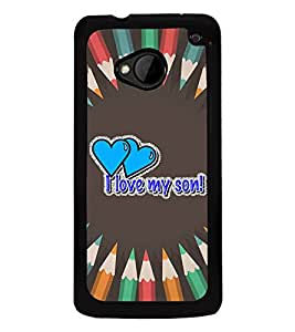 Fiobs Designer Back Case Cover for HTC M7 :: HTC One M7 (God Bhagvan Temple Dress Sports Typography Spritual)