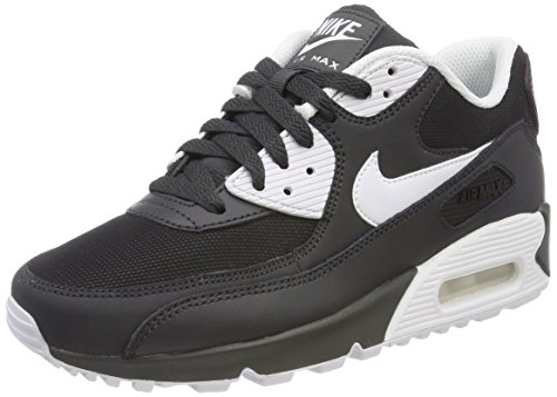 Max Air 90 Nike Männer (Nike Herren Air Max 90 Essential Gymnastikschuhe, Grau (Anthracite/White/Black 089), 43 EU)