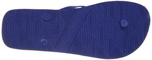 Calvin Klein Jeans Herren Dabney Jelly Zehentrenner Kobalt