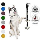 Caldwell's Pet Supply Co. Bells Dog Potty housetraining Sonnettes pour la Formation de Chien et Votre Chien. Effraction Chien Bell Doggie Sonnette et entraînement au Petit Pot