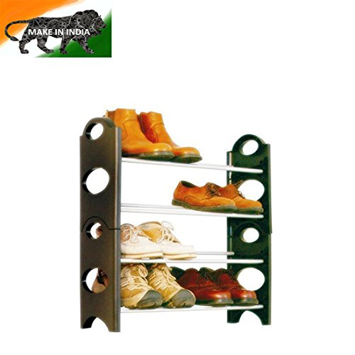 GTC Bells Boss Foldable 12 Pairs Shoe Rack