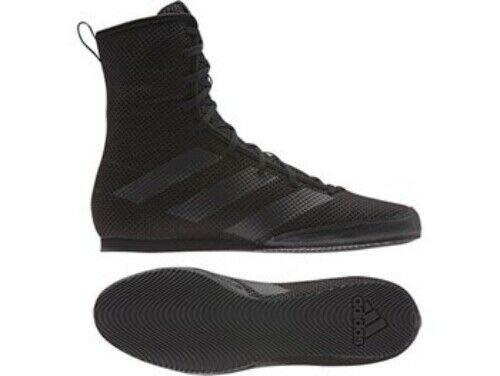 adidas Unisex-Erwachsene Box Hog 3 Fitnessschuhe, Schwarz (Black F99921), 42 2/3 EU
