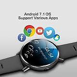 Eulan LEMFO LEM X Smart Watch, Android 7.1 4G 2.03'''' 900Mah GPS 5MP