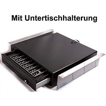 M/ünzbrett Kassenschublade Geldlade Z/ählbrett Kassenlade mit M/ünzz/ählbrett iQCash410C RJ11 41x41x10cm