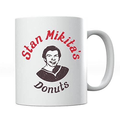 Waynes World Mikitas Donuts Mug