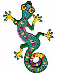 Applikation Geko Salamander embroidered iron on patch