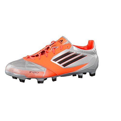 Adidas F50Adizero TRX FG Leather miCoach Argent l44719Taille: 402/3 Argent