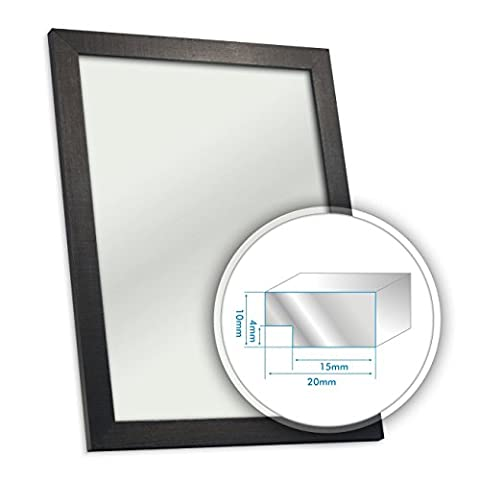 Black Wooden Picture Photo Frame 20