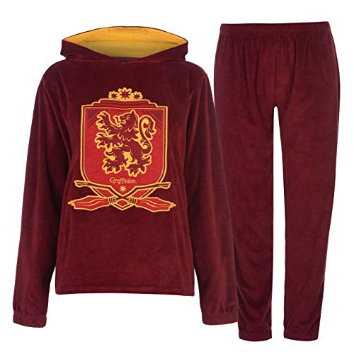 Harry Potter Gryffindor - Pijama - para Mujer Rojo Scarlet/Gold S