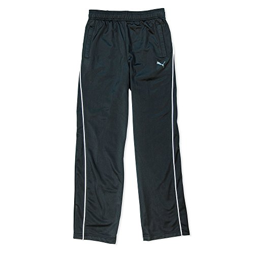 Puma Big Boys 8-20 Schwarze Sportliche Hose - Mesh Strick Warm-Up Hose Gr??e X-Large - Sportliche Warm-up-hose