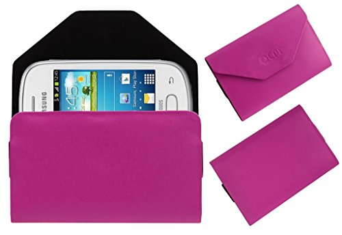 Acm Premium Pouch Case For Samsung Galaxy Star S5280 S5282 Flip Flap Cover Holder Pink  available at amazon for Rs.329