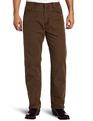 Wrangler Rugged Wear Men's Woodland Thermal Jean