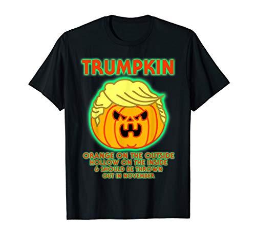 Donald Kostüm Trumpkin - Halloween Trumpkin Funny Donald Trump Kürbis Politische Meme T-Shirt