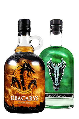 Pack 2 botellas 1 de Fuego Valyrio y 1 de Dracarys Fire