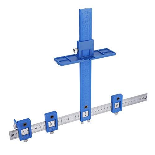 Lochbohrer Führungshülse Kabinett Hardware Jig Drawer Pull Holzdübel Werkzeug