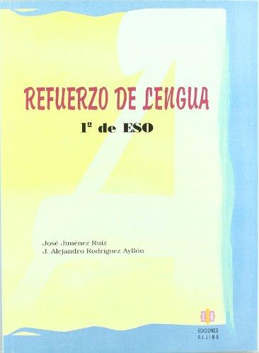 Refuerzo de lengua: 1º de ESO - 9788497001755