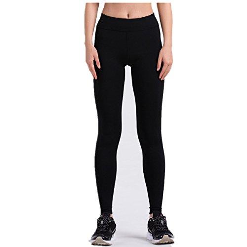 Kmool - Pantalon de sport - Femme noir noir 44 Noir
