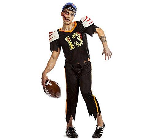 Zzcostumes Zombie Amerikanischer FUßBALL Spieler Kostüm GRÖßE M-L