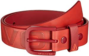 Volcom Herren Gürtel Standard Belt, Electric Orange, S/M, D5911454EOR