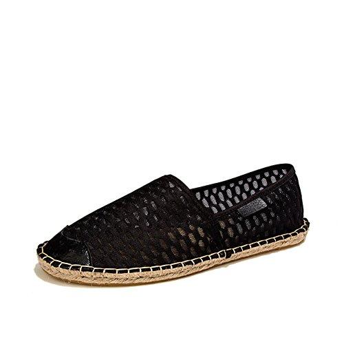 Estate scarpe antiscivolo resistente di ventilazione/Scarpe tempo libero uomo semplice Nero