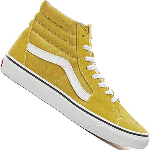 Cress Green (Vans Sk8-Hi (Color Theory) Sneaker VA38GEU61 Cress Green/True White Gr. 45 (US 11.5))